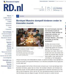 rd-artikel Maestro bordspel klassieke muziek